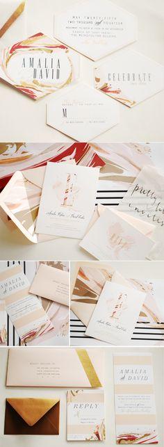 marbled invites,  umamaonline.com