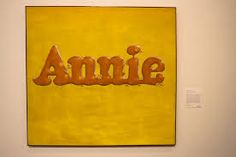 ED RUSCHA annie poured from maple syrup - 1966