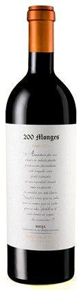 Vino tinto de Rioja 200 Monges Selección Especial 2004 con 97 puntos Robert Parker