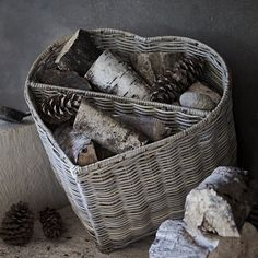 Find the perfect laundry basket for your bathroom at The White Company. Shop our full range of laundry & storage items including baskets, caddies, drawers & bins. Fireplace Accessories, Room Accessories, Log Burner, Laundry Storage, The White Company, Home Trends, New Living Room, Living Spaces, Living Room Inspiration