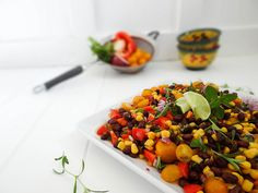 Herbed Black Bean Salad