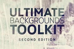 The Ultimate Backgrounds Toolkit 2 - 300 photos and backgrounds (hi-res 5184×3456) 3 Photoshop (PSD) templates Extended License! on @creativework247