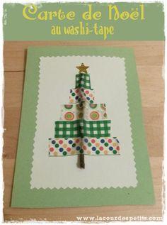 Une carte de Noël faite maison par les enfants ! |La cour des petits