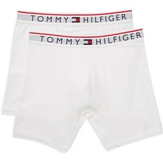 b84cb7a447b5 Tommy Hilfiger Logo Boxer Briefs, Pack of 2 ($30) ❤ liked on Polyvore