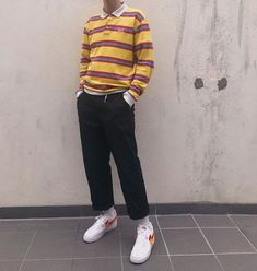 Best Vintage Outfits Part 18 Retro Outfits, Outfits For Teens, Trendy Outfits, Vintage Outfits, Cool Outfits, Guy Outfits, Aesthetic Fashion, Aesthetic Clothes, Look Fashion