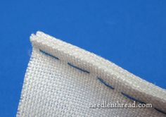 Palestrina Stitch Edging