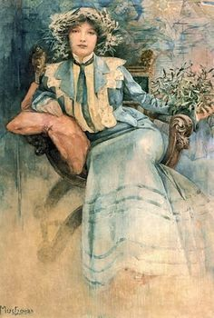 Alphonse Maria Mucha  1860-1939  Tsjechië