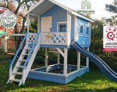 Znalezione obrazy dla zapytania domek dla dzieci