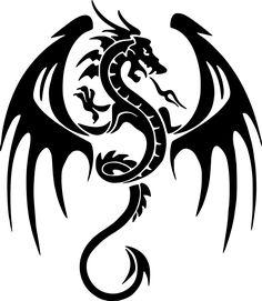 Dragon Mythical Creature Vinyl Sticker Decal