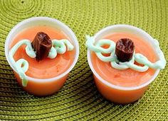 Pumpkin-Pie Jelly Shot