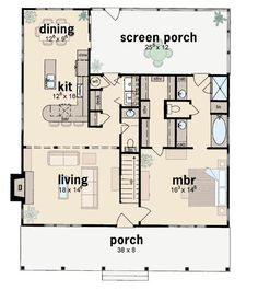 Cape Cod House Plan 56150 Level One