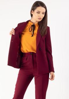 Colectie - Moze Fashion Smart Casual, Lady, Jackets, Women, Fashion, Down Jackets, Moda, Fashion Styles, Fashion Illustrations