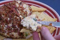 Remplacer votre trempette pour une boule de fromage et bacon