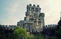Castillo de Butrón .Gatika. Vizcaya
