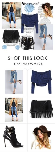 """Sheinside contest:"" by nejrica-2007 ❤ liked on Polyvore featuring White House Black Market and Burberry"
