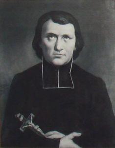 1860 painting of St. Jean-Louis Bonnard. Photo taken by PHGCOM