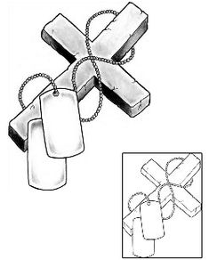 Sketches of dog tags - Yahoo Search Results Yahoo Image Search Results Dad Tattoos, Mini Tattoos, Cute Tattoos, Tattoos For Guys, Dog Tags Tattoo, Flag Drawing, Patriotic Tattoos, Military Drawings, Christian Tattoos
