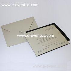 Invitación clásica barcelona · invitaciones boda profesionales · tienda invitaciones boda clásicas · bodas tradicionales barcelona · tarjetas boda sobrias · tarjetas boda elegantes · Sobres impresos · impresión sobres boda · sobres personalizados boda