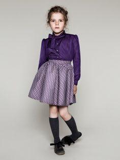 Milk | purple | blouse | skirt