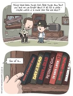 Father Son Momment - The Walking Dead