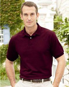 Hanes @ $3.59- Stedman- Wholesale Men's Polo Shirt- Heavy Weight 50/50 -054X