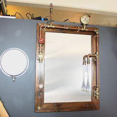 Industrial Steampunk mirror | Andy Thornton