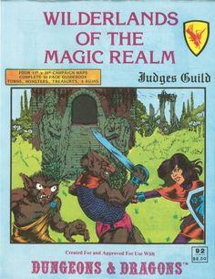 D&D: Wilderlands of the Magic Realm ~ Judges Guild (1979)