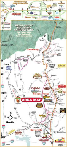 Gatlinburg Tri City Map Www Vrbo Com 558850 Or Http