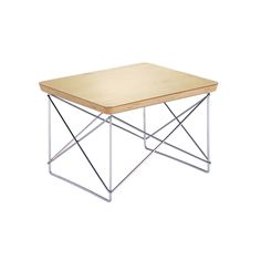 OCCASIONAL TABLE LTR BY CHARLES EAMES (GOLD LEAF)