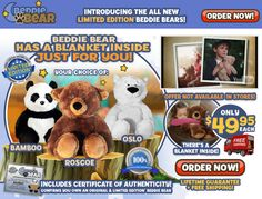Beddie Bear is a plush collectible stuffed animal which contains a comfy blanket. Does it work? Read our Beddie Bear review.