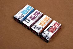 The Grown Up Chocolate Company branding & packaging design by Toast Design.