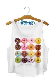 Donut perf crop top - Fresh-tops.com