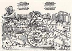 Artist: Schoen, Erhard, Title: Laden zweier Geschütze, Date: ca. 1535