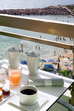 A beach-view breakfast is the best way to start any day in Cannes. Pullman Cannes Mandelieu Royal Casino Hotel (Mandelieu-La-Napoule, France) - Jetsetter