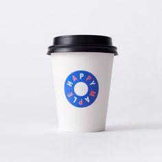 Logo, print and packaging by Sydney-based graphic design studio Garbett for donut bakery Happy Maple.