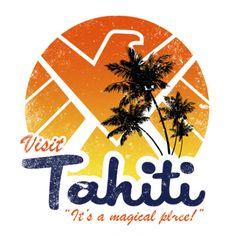 "#Marvel Comics: Agents of Shield: Visit #Tahiti ""It's a magical place!"" t-shirt."