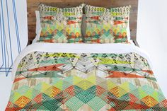 Pattern State Arrow Dawn | 20 Comforters + Duvet Covers That Won't Break the Bank