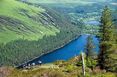 Glendalough( the valley of two lakes) a glacial valley in County Wicklow(known as the Garden of Ireland) an early medieval monastic settlement on Ireland East Coast,Glendaough is situated just outside Dublin.By Discover Ireland CA