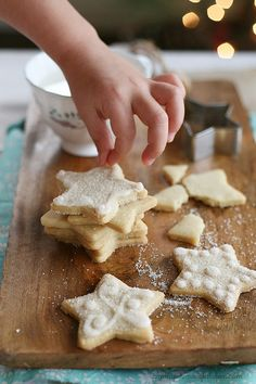 Yummy Mummy Kitchen: The Best Sugar Cookies {shhhh, they're vegan} These were awesome! they will be perfect at Christmas!
