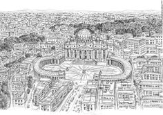 L@zY_TurtLE: .Stephen Wiltshire. Stephen Wiltshire, London, Rome, City Photo, Good Things, Turtle, Inspiration, Drawings, Unique