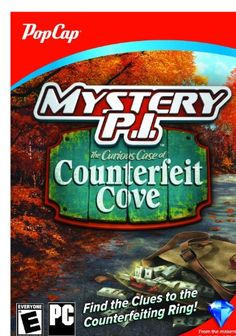 Mystery P.I. The Curious Case of Counterfeit Cove [Online Game Code]:   <div>The hidden-object hit heads to New England!<br /><br />The picturesque New England village of Whaler's Cove is preparing for the fall tourism season, but counterfeit bills are popping up all around the seaside settlement. You've been hired by the town elders to track down the counterfeiting ring before the fake bills ruin the local economy.<br /><br />Visit 25 charming seaside locations as you search for more ...