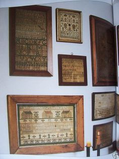 primitive, sampler collection, wall arrangement