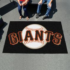 San Francisco Giants 5' x 8' Tailgating Area Rug