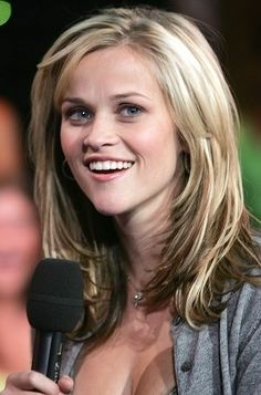 short, reese witherspoon, hairstyles, hair colors, new hair, beauti, layered hair, haircut, shoulder length hair