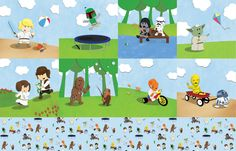 hahahhaah adorable!!!!! >SW Kids Fat Quarter fabric by nixongraphix on Spoonflower - custom fabric