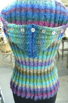 Noro vest by Nancy Keyes