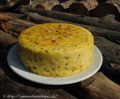 Domácí polotvrdý ochucený sýr - conovehonakopci