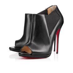 Bootstagram 120mm Black Leather