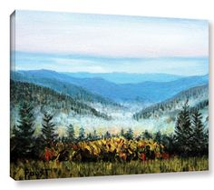 Hidden Valley by Gene Foust Painting Print on Wrapped Canvas