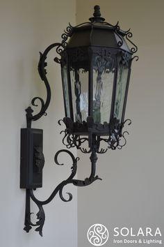 Main entrance Electric Powered Lanterns